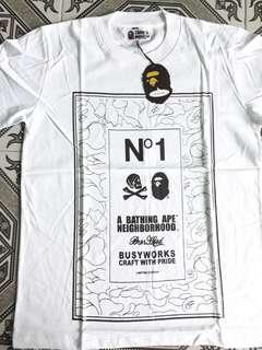 T-Shirt/Kaos A Bathing Ape X NBHD