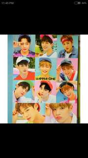 Wanna One Poster and Sticker