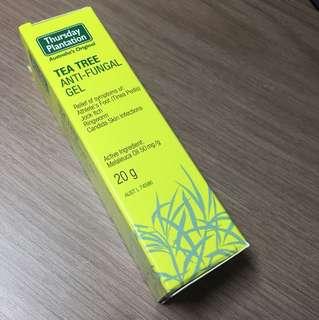 BNIB Tea tree anti-fungal gel