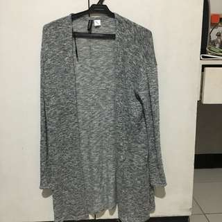 H&M Divided Gray Cardigan