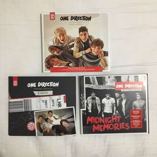 Various One Directions CDs