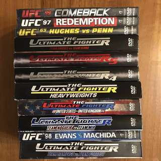 11 UFC DVDs Ultimate Fighting Championships MMA