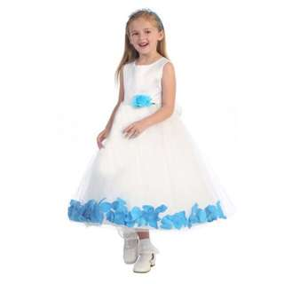 [FREE POSTAGE SM] Flower Girl Dress Wedding Party princess dress