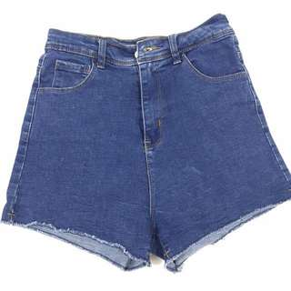 the editors market high waisted jeans short