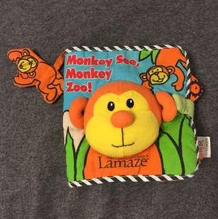 Monkey see, Monkey zoo! Cloth book