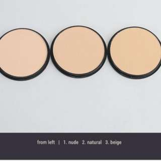 BN PRESSED MINERAL POWDER COMPACTS
