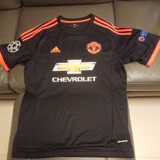 2015Adidas manchester united 3rd away jersey#17 Blind