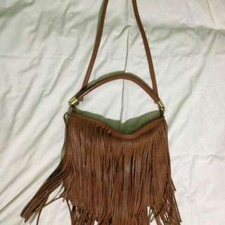 H&M two way boho bag