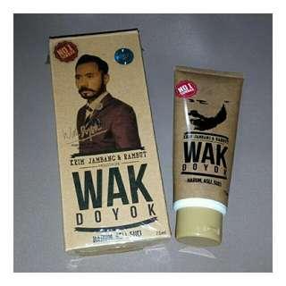 WakDoyok Krim Jambang & Rambut