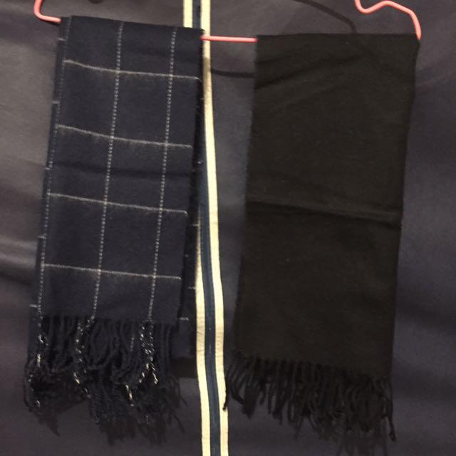 全新圍巾*2