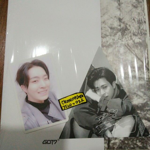 7 FOR 7 Present Edition 2nd Second Press Youngjae Photocards