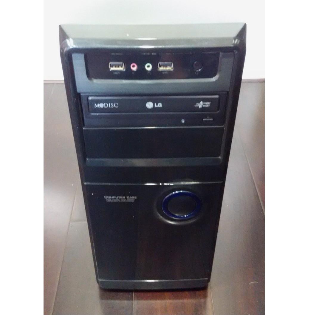 開機即用 1080P HD影片 i3文書輕遊戲電腦主機