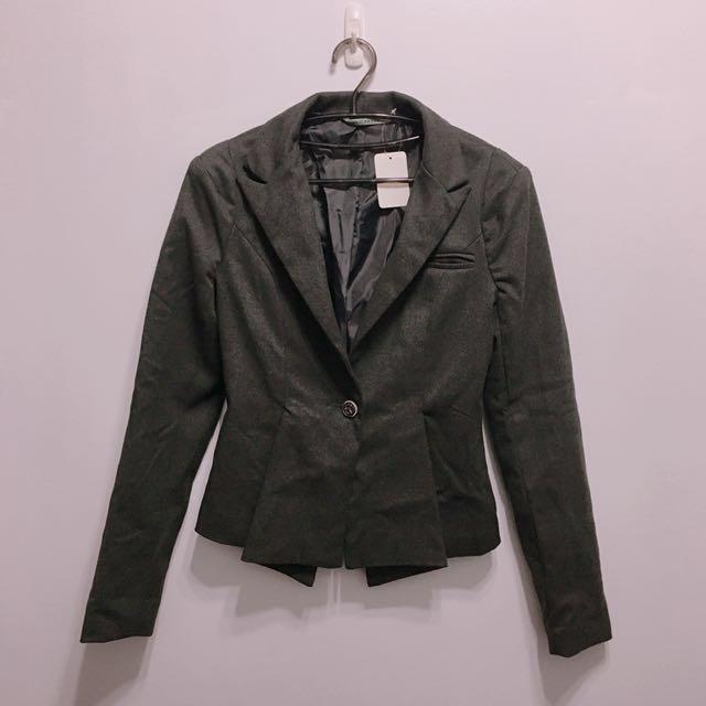 韓版修身百搭款西裝外套