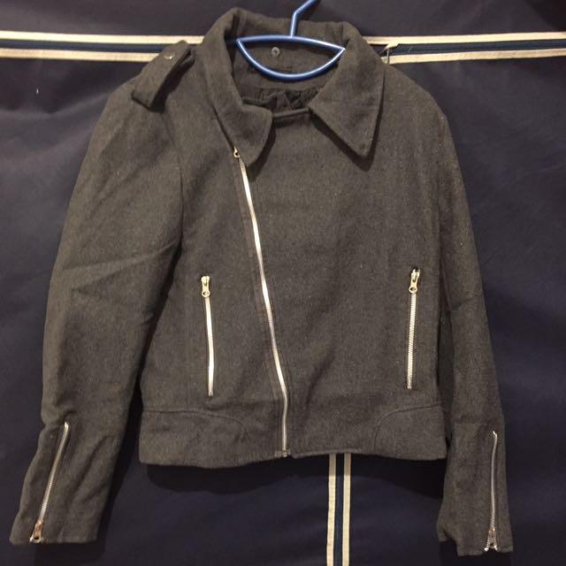 灰色騎士外套