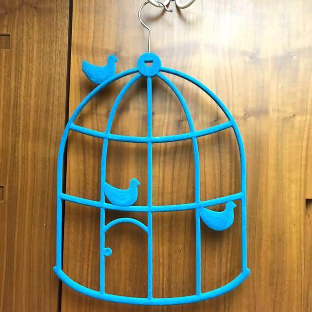 衣架系列-多功能鳥籠造型衣架