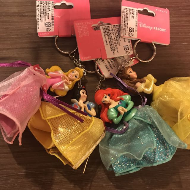 出清 Disney 迪士尼公主系列鑰匙圈✨