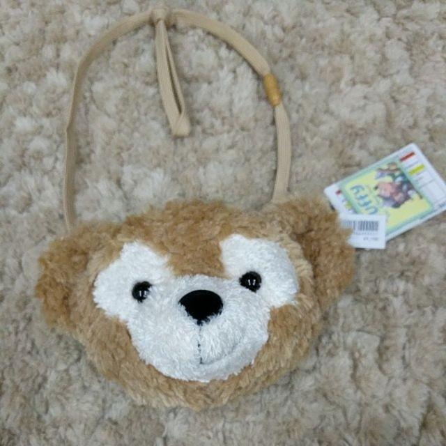 全新正品 Duffy熊零錢側背包