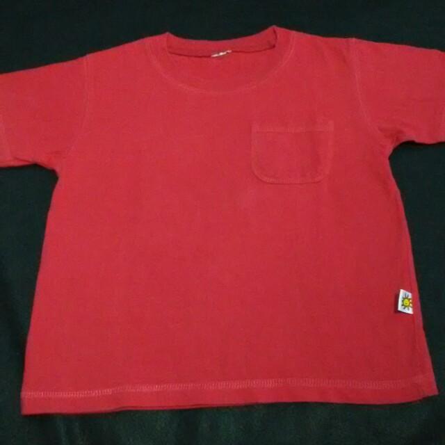 ❤ Kaos Anak Little M Ori Red