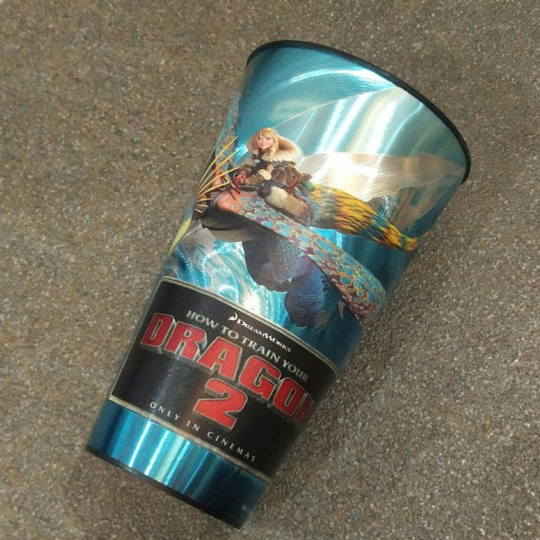 🆕 #MidJan55 Dreamworks How To Train Your Dragon 2 Drinking Cup
