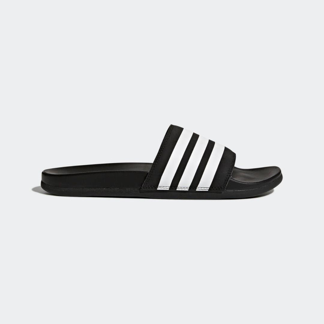 Adidas adilette cloudfoam plu strisce diapositive ap9971, moda maschile