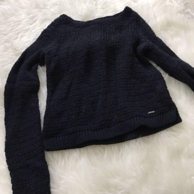 A&F knit sweater