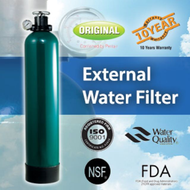 Amway External Water Filter Review