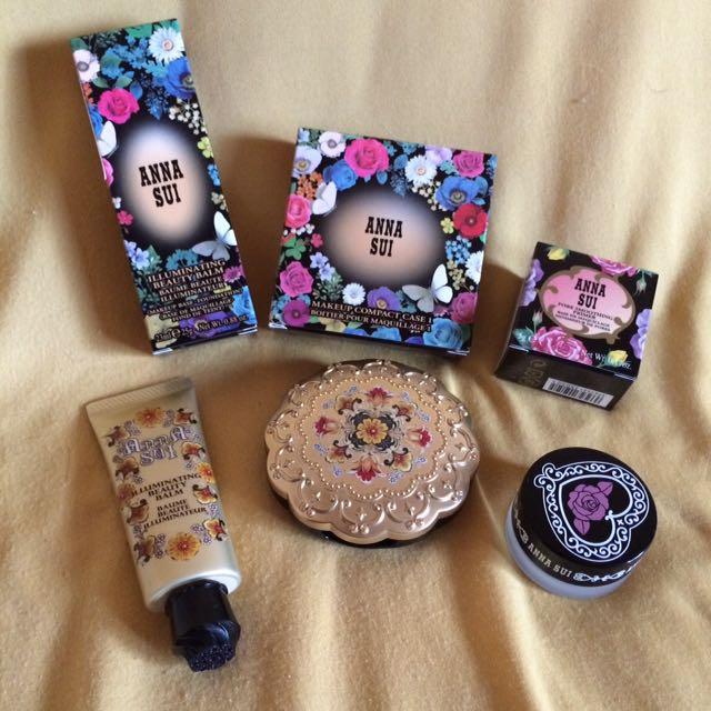 Anna Sui 蜜粉餅、bb霜、毛孔遮瑕膏