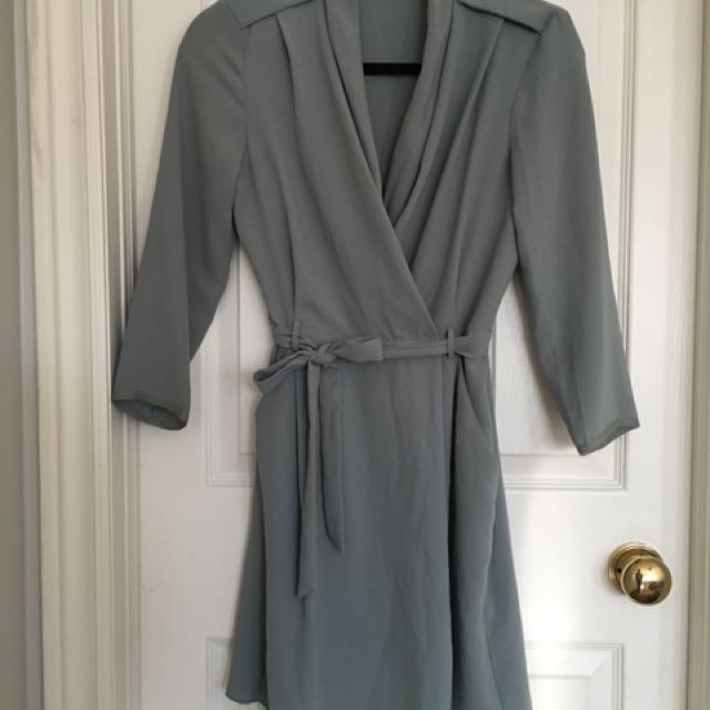 Aritzia Wilfred Franca Dress | Mist 2