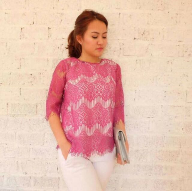 Atkey lace blouse