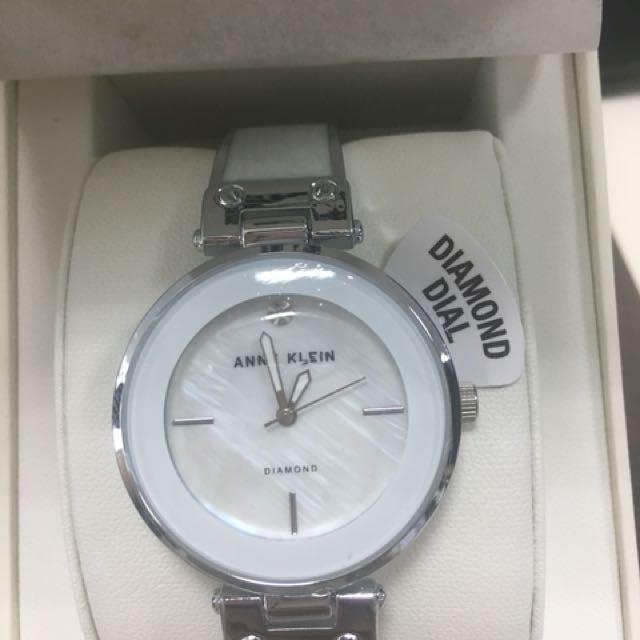 Authentic Anne Klein Watch with Diamond