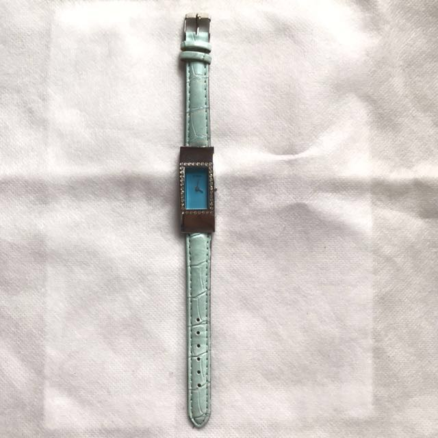 Authentic guess baby blue watches