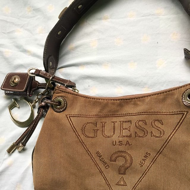authentic Guess shoulder bag