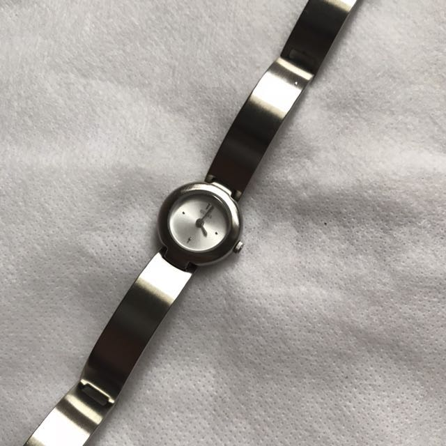 authentic guess stainless watch