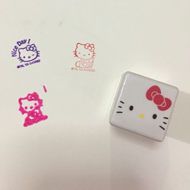 Authentic Hello kitty Stamp