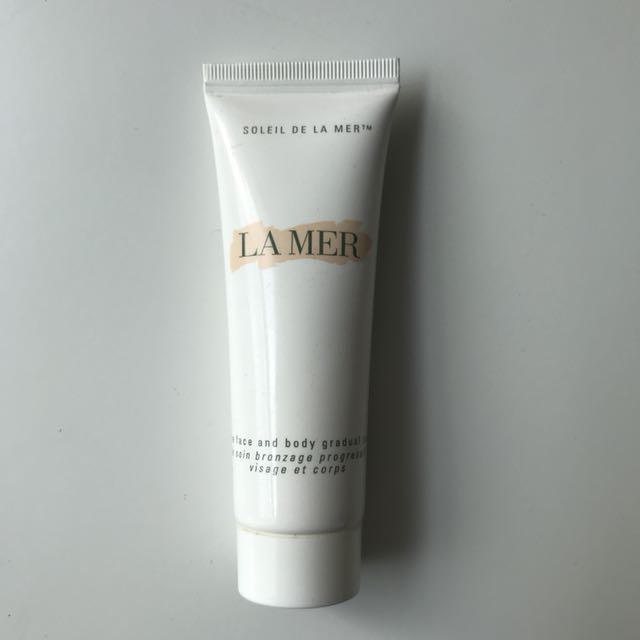 Authentic la mer face and body tanner