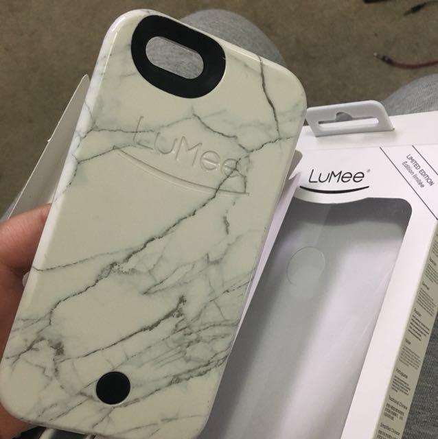 Authentic Lumee Marble Case