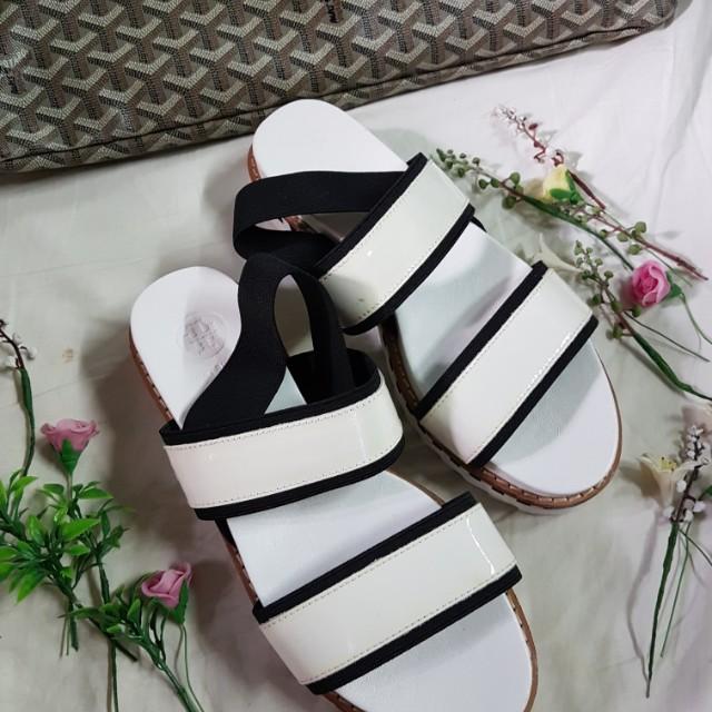 6120d3691ba2d3 Authentic Tory Burch Garter Slingback Platform Sandals