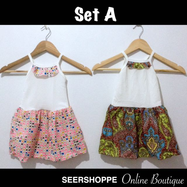 Baby Dress SET A (2pcs)