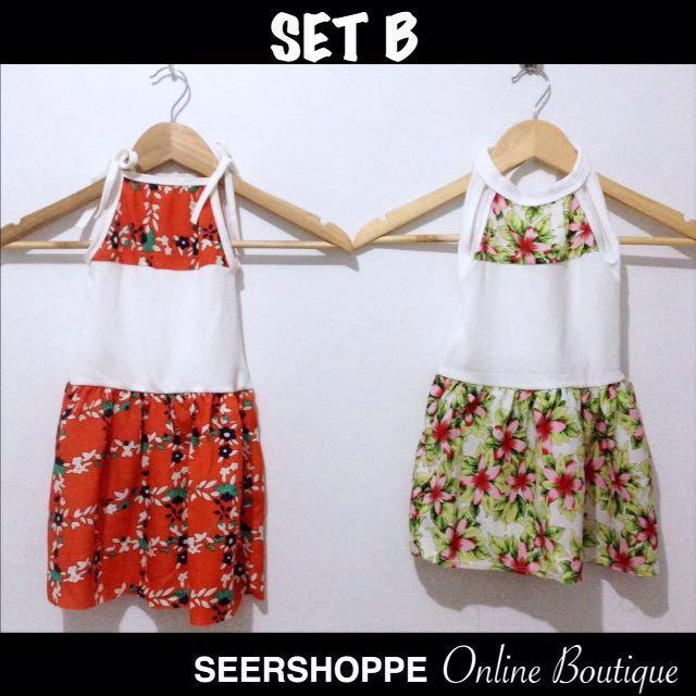 Baby Dress SET B (2 pcs)