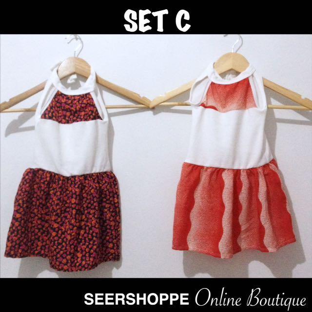 Baby Dress SET C (2 pcs)