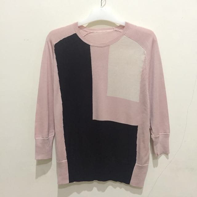 Baju Pink Salem Bat-Wing