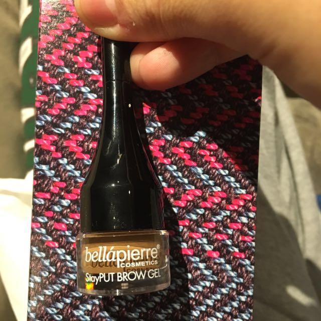 Bellapierre brow gel
