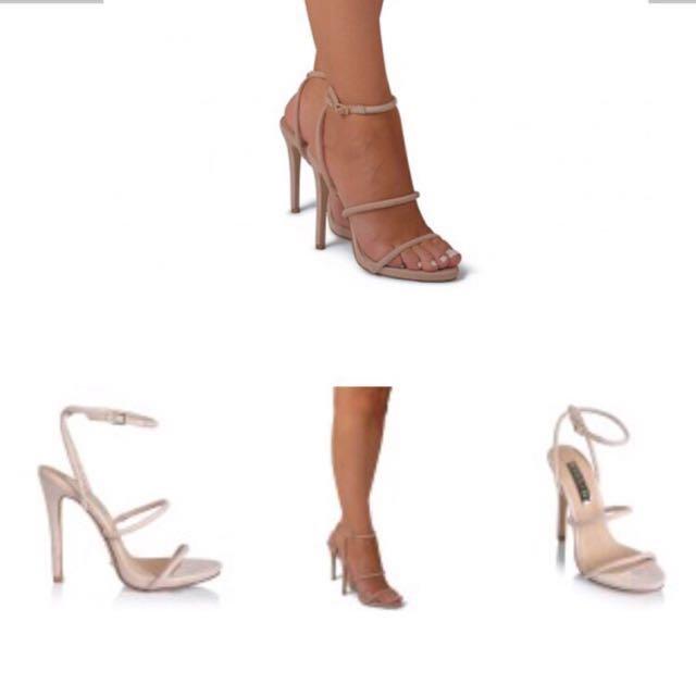Billini Dahlia Nude Heels