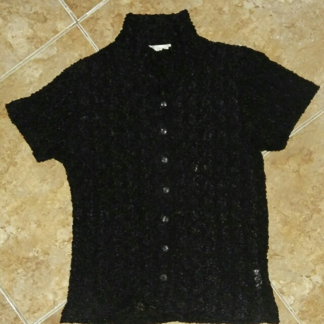 Black Blouse (Pre-loved)