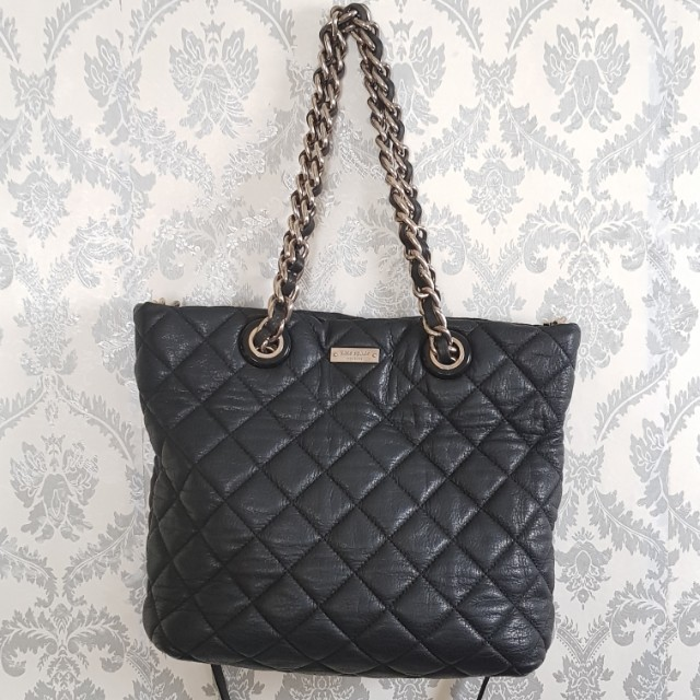 Authentic Black Leather Bag