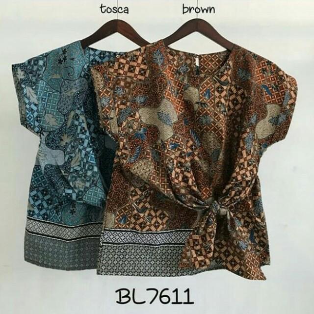 Blouse batik premium