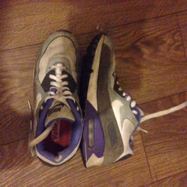 Blue/Purple Nike Air Max 90