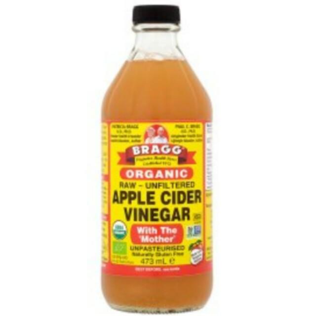 Bragg Apple Cider Vinegar / Cuka apel