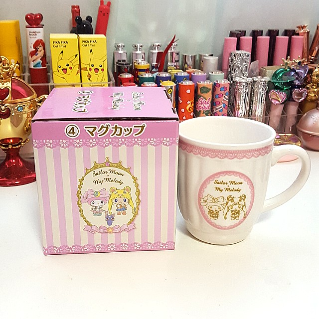 Brand New & Authentic Sailor Moon x My Melody 4th Prize Mug