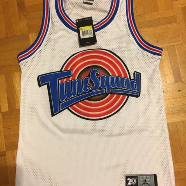 BRAND NEW AUTHENTIC SPACE JAM JERSEY